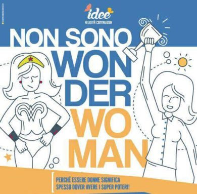 NON SONO WONDER WOMAN